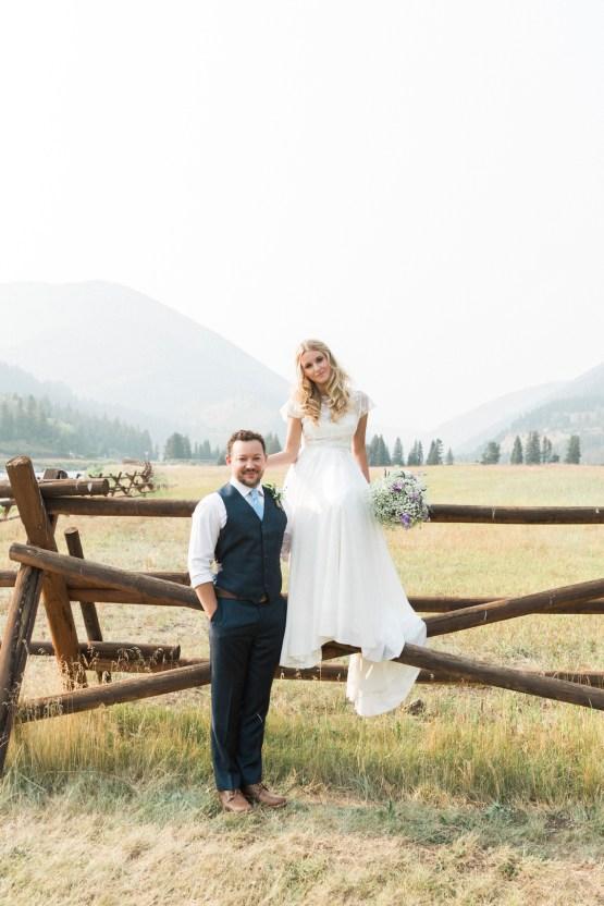 Rustic Montana Ranch Wedding | Emily Blumberg Photography 45