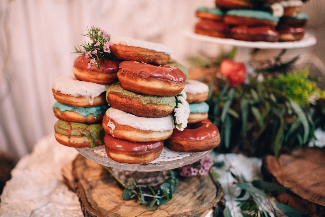 Colorful, Natural Boho Wedding (With Donuts!) | Morgan Brooks Photography 2