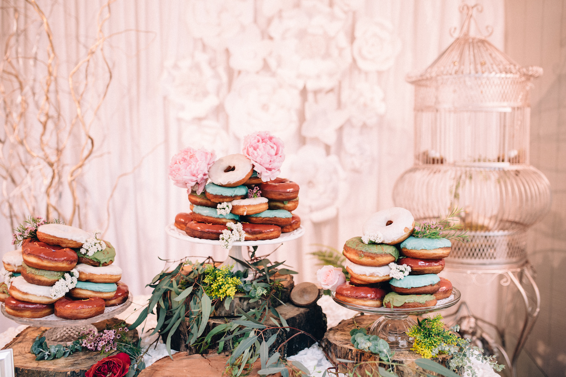 Colorful, Natural Boho Wedding (With Donuts!) | Morgan Brooks Photography 7