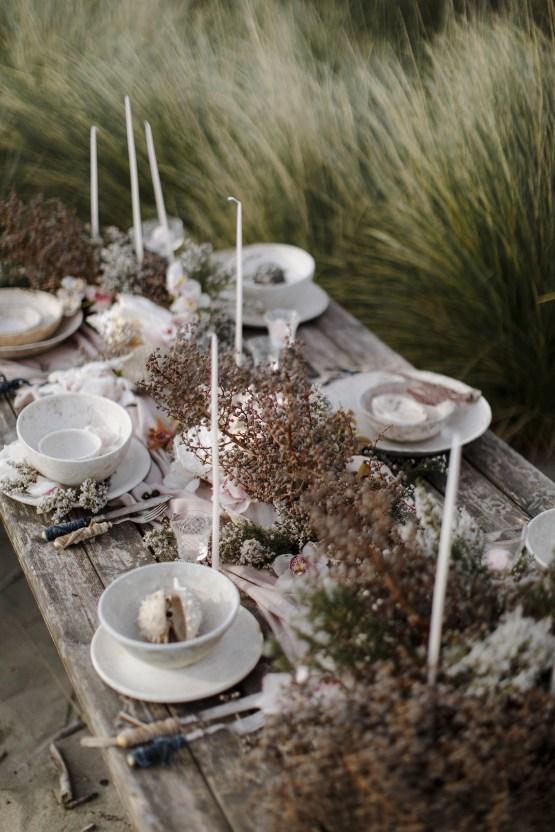 Driftwood & Seagrass, Seaside Boho Wedding Inspiration | Monica Leggio 17