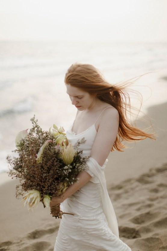 Driftwood & Seagrass, Seaside Boho Wedding Inspiration | Monica Leggio 35