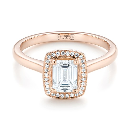 Engagement Ring 101 What's Your Ideal Diamond Ring Shape | Emerald Cut | Joseph Jewelry 2
