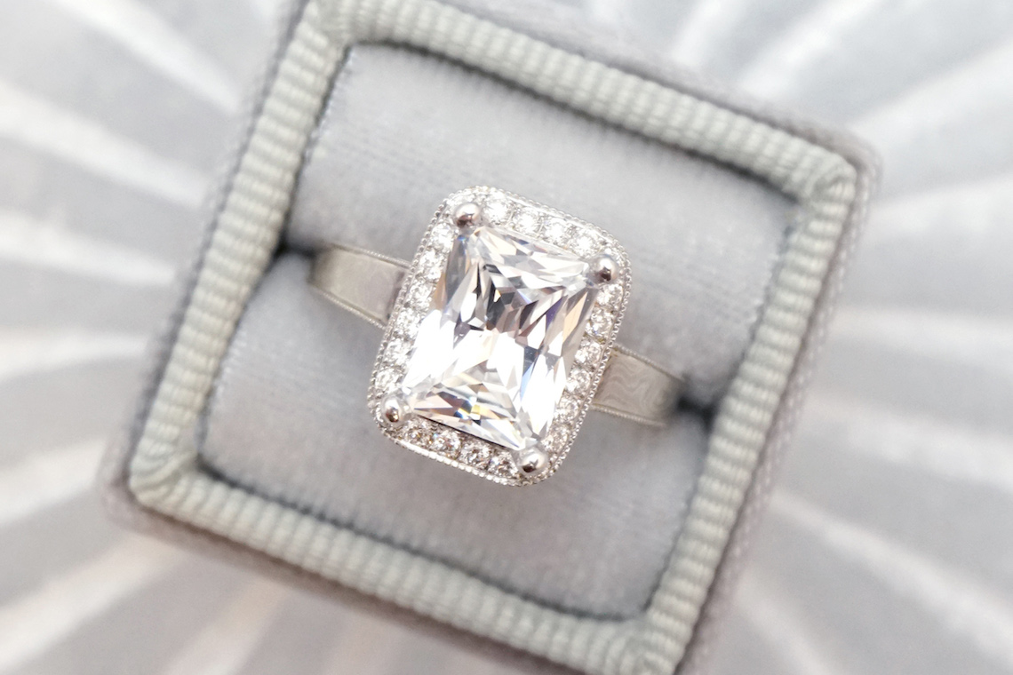 Engagement Ring 101 What's Your Ideal Diamond Ring Shape | Emerald Cut | Joseph Jewelry 7