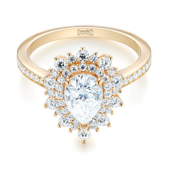 Engagement Ring 101 What's Your Ideal Diamond Ring Shape | Pear Cut | Joseph Jewelry 2