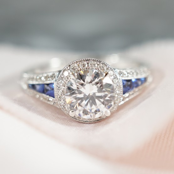 Engagement Ring 101 What's Your Ideal Diamond Ring Shape | Round Cut | Joseph Jewelry