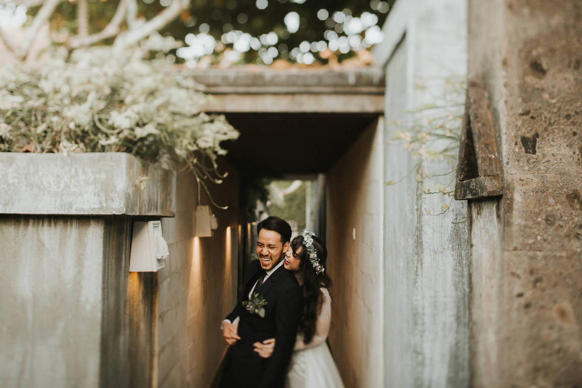 Modern & Hip Bali Wedding Featuring Sparklers & Flower Crowns | Iluminen Photography 18