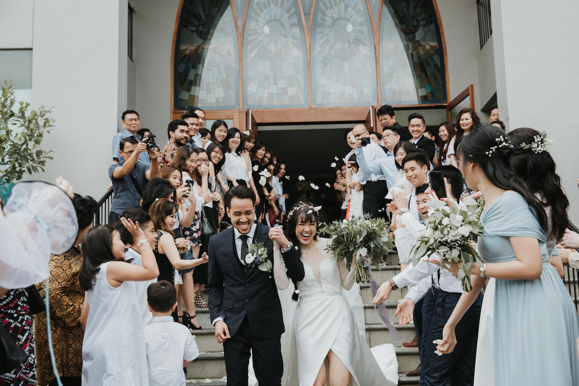 Modern & Hip Bali Wedding Featuring Sparklers & Flower Crowns | Iluminen Photography 9