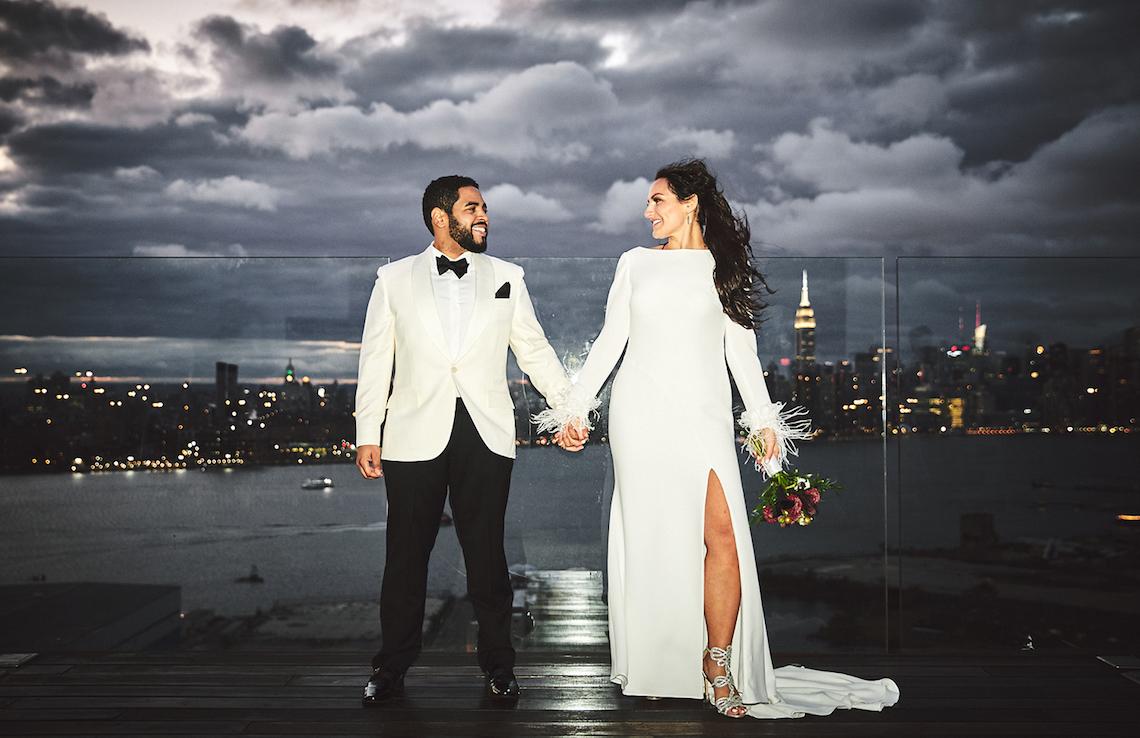 Stylish New York Wedding With Incredible City Views | Bri Johnson Photography 1
