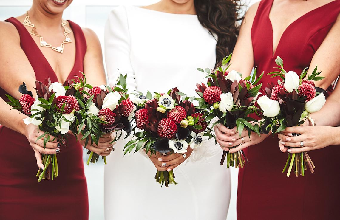 Stylish New York Wedding With Incredible City Views | Bri Johnson Photography 11