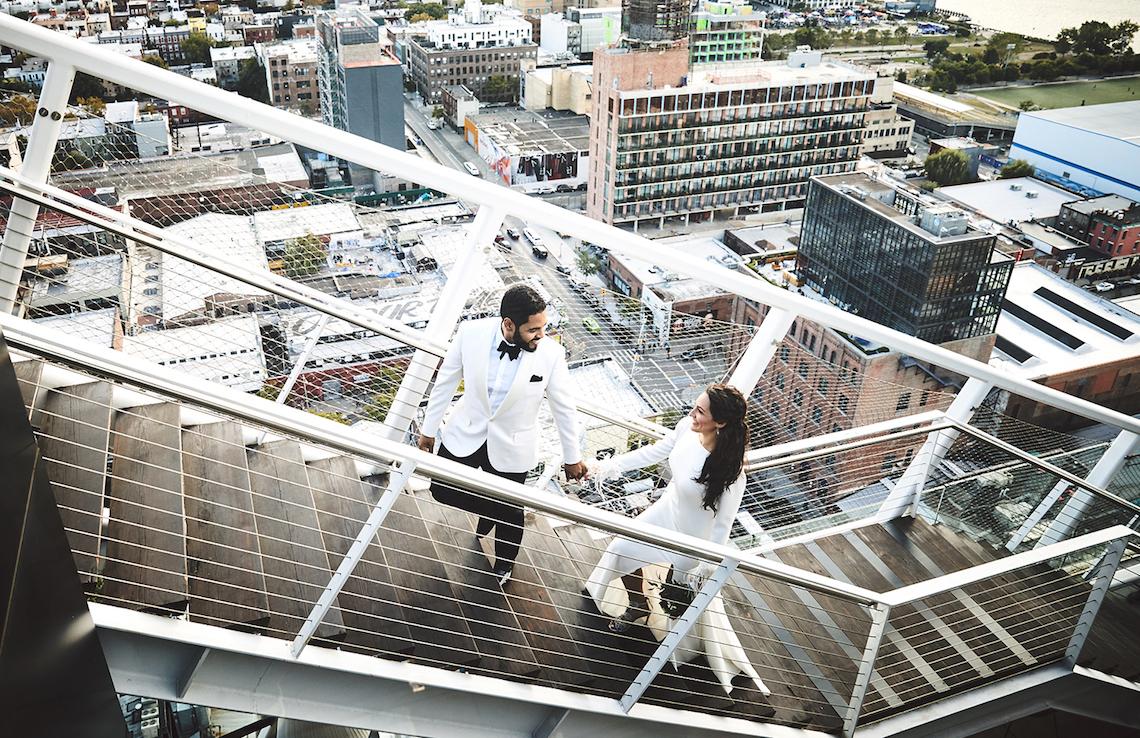 Stylish New York Wedding With Incredible City Views | Bri Johnson Photography 22