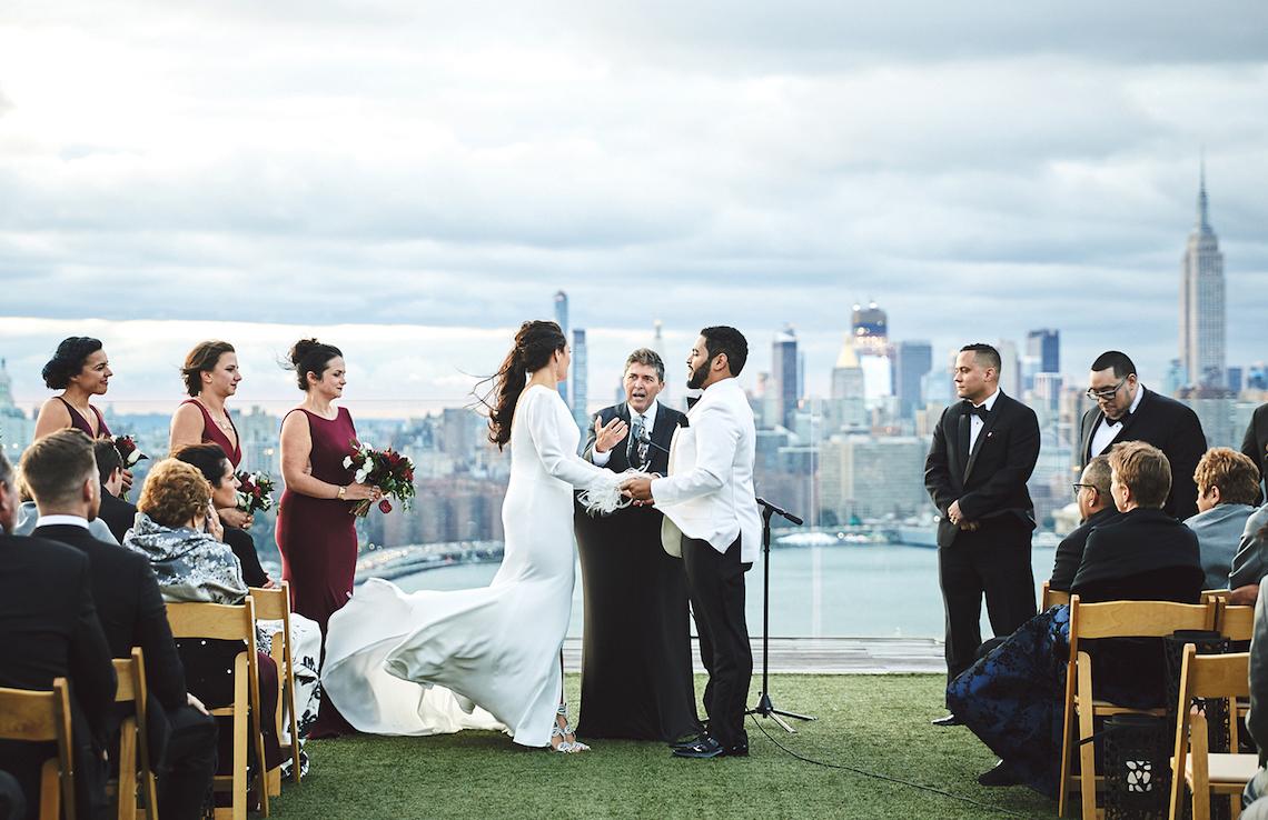 Stylish New York Wedding With Incredible City Views | Bri Johnson Photography 23