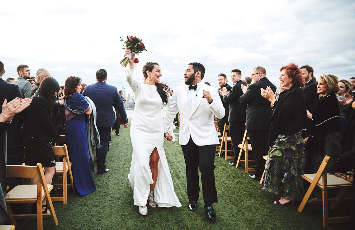 Stylish New York Wedding With Incredible City Views | Bri Johnson Photography 24