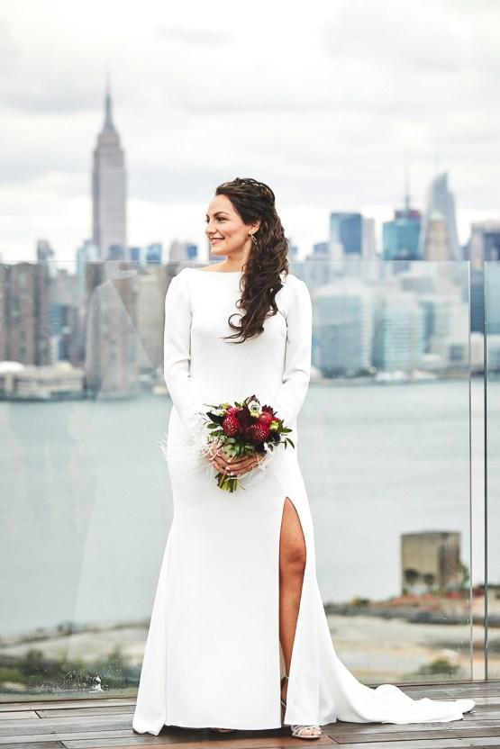 Stylish New York Wedding With Incredible City Views | Bri Johnson Photography 41