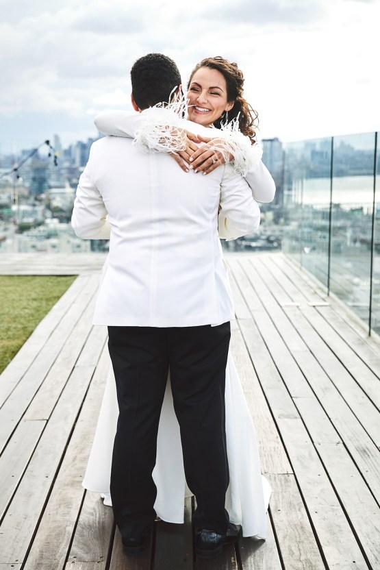 Stylish New York Wedding With Incredible City Views | Bri Johnson Photography 44
