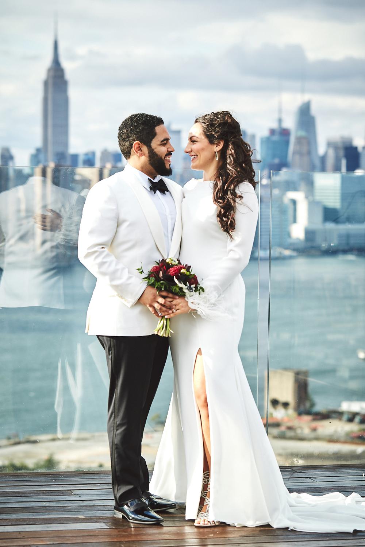 Stylish New York Wedding With Incredible City Views | Bri Johnson Photography 45