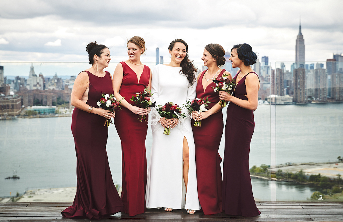 Stylish New York Wedding With Incredible City Views | Bri Johnson Photography 8