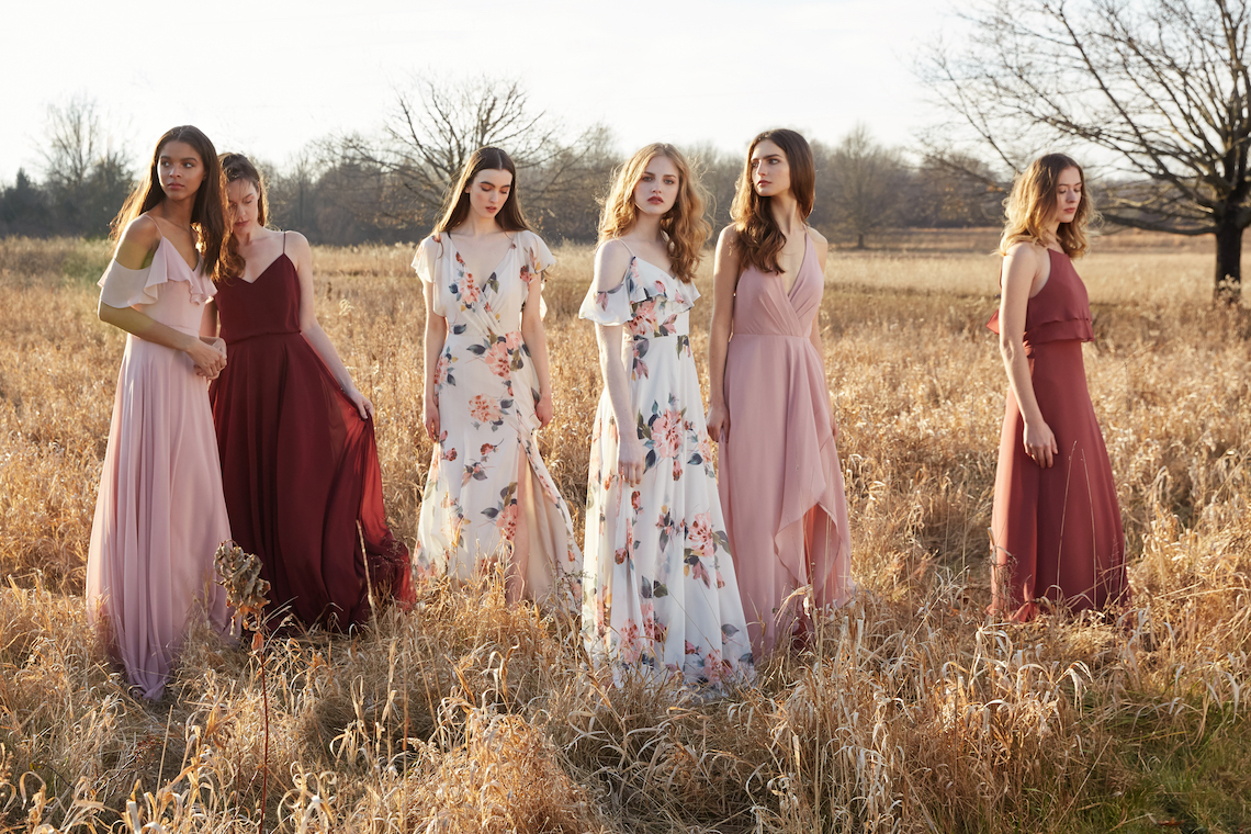 The Dazzling Jenny Yoo Dresses Your Bridesmaids Will Be Begging For | This Modern Romance 51
