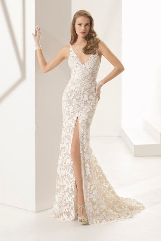 The Stunning & Sensual Rosa Clara Couture Wedding Dress Collection 11