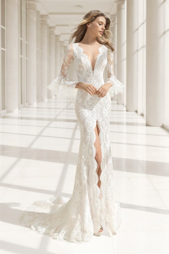 The Stunning & Sensual Rosa Clara Couture Wedding Dress Collection 14