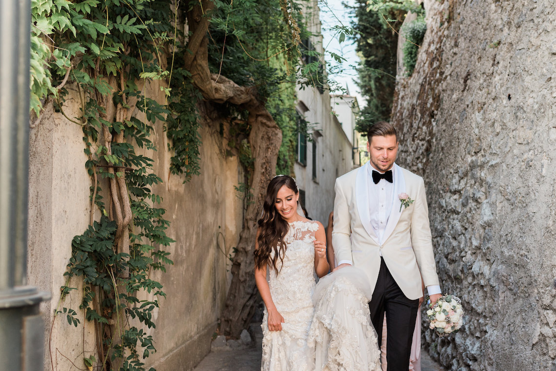 The Ultimate Dream Villa Wedding On The Amalfi Coast | Lace and Luce 17