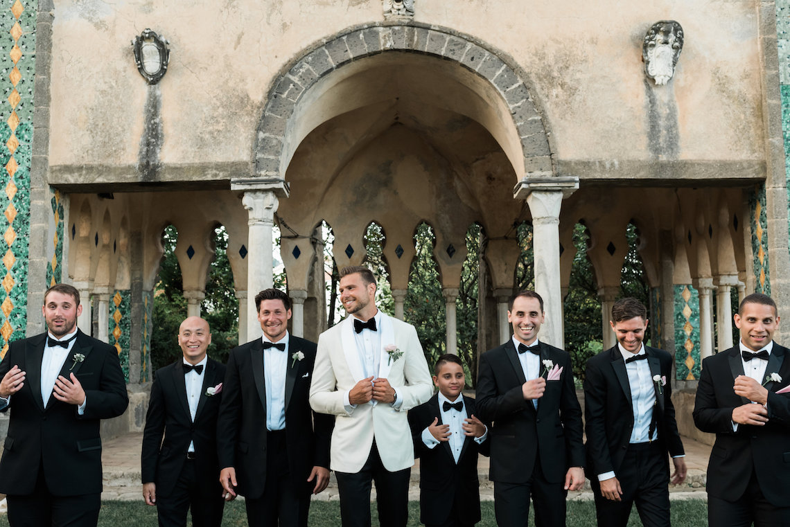 The Ultimate Dream Villa Wedding On The Amalfi Coast | Lace and Luce 19