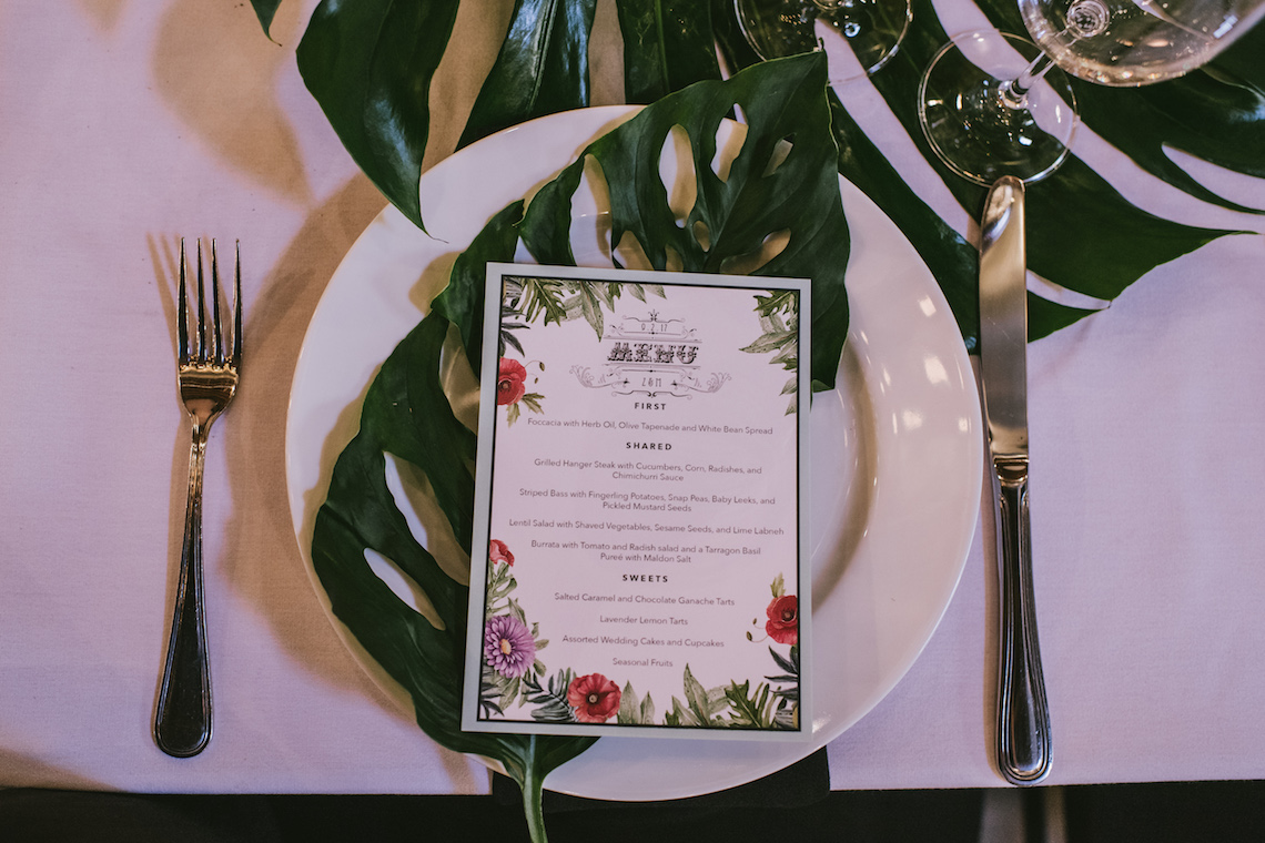 A Designer Bride's Hip Brooklyn Wedding With Tropical Vibes | KM Photo 20