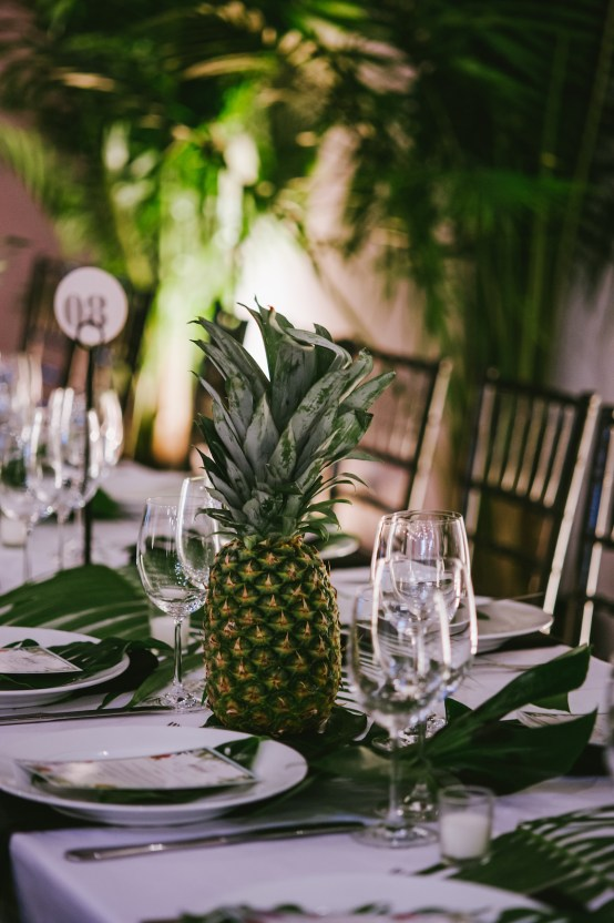 A Designer Bride's Hip Brooklyn Wedding With Tropical Vibes | KM Photo 50