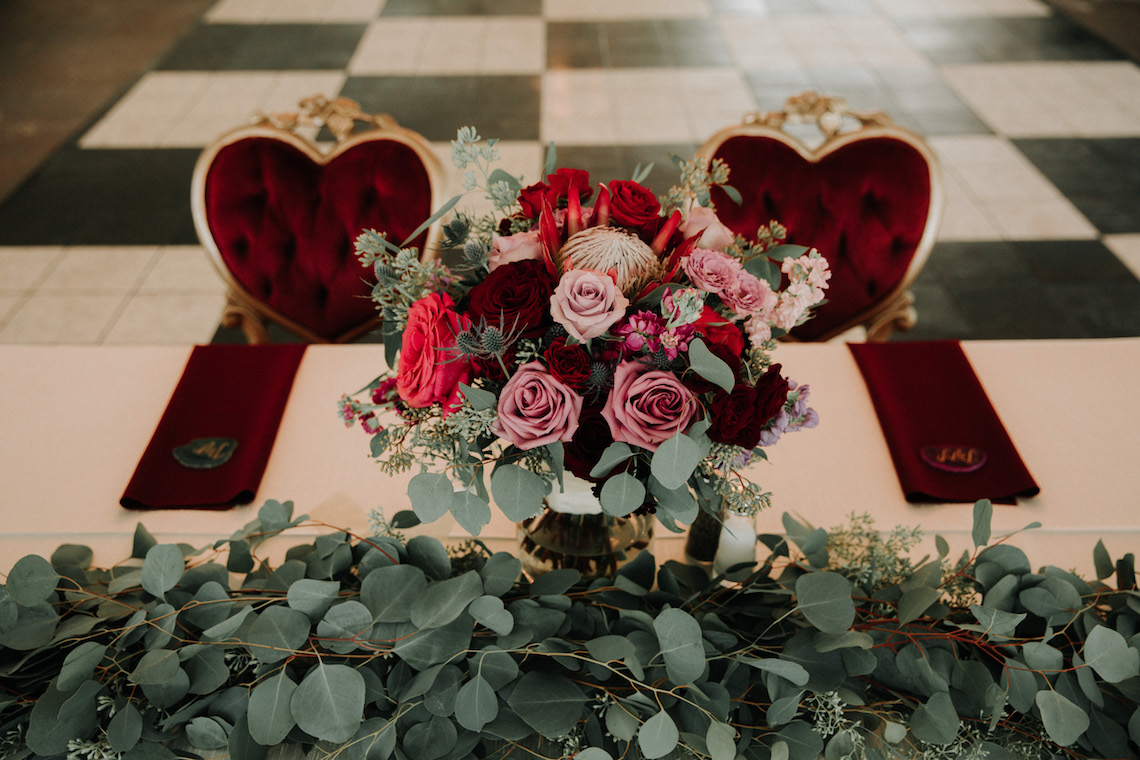 Classic Romance; A Heartfelt Wedding Filled With Red Roses | T & K Photography 16