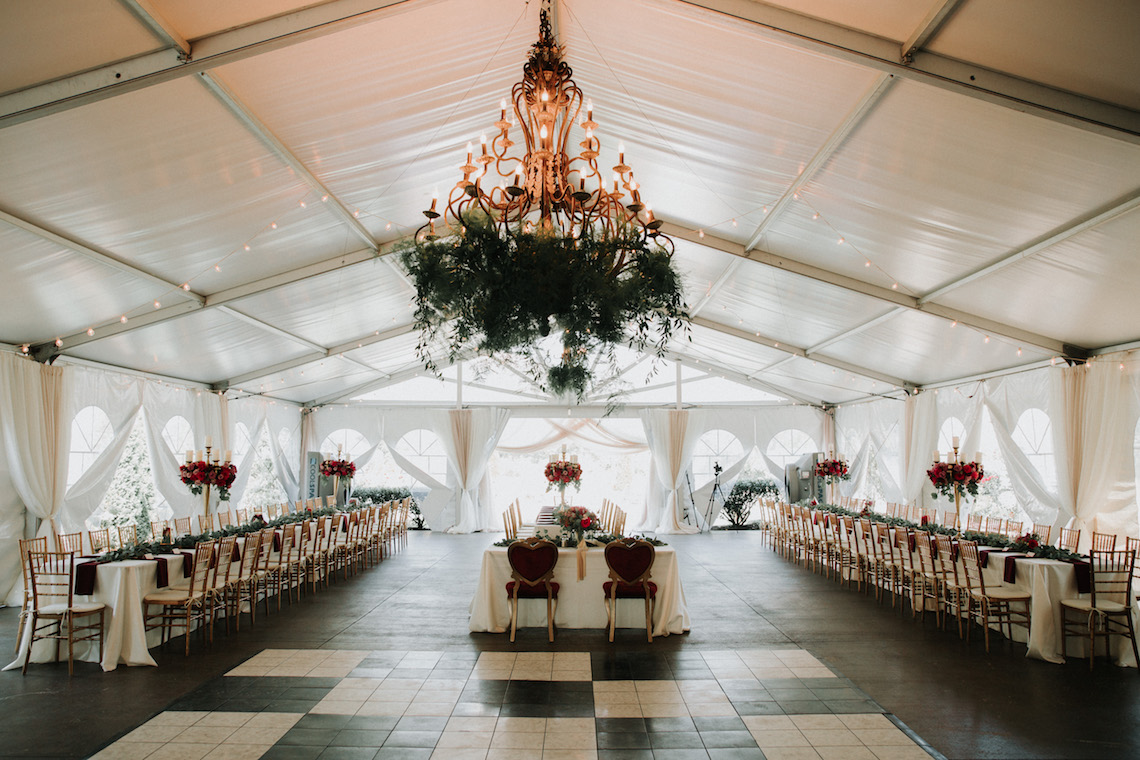 Classic Romance; A Heartfelt Wedding Filled With Red Roses | T & K Photography 17