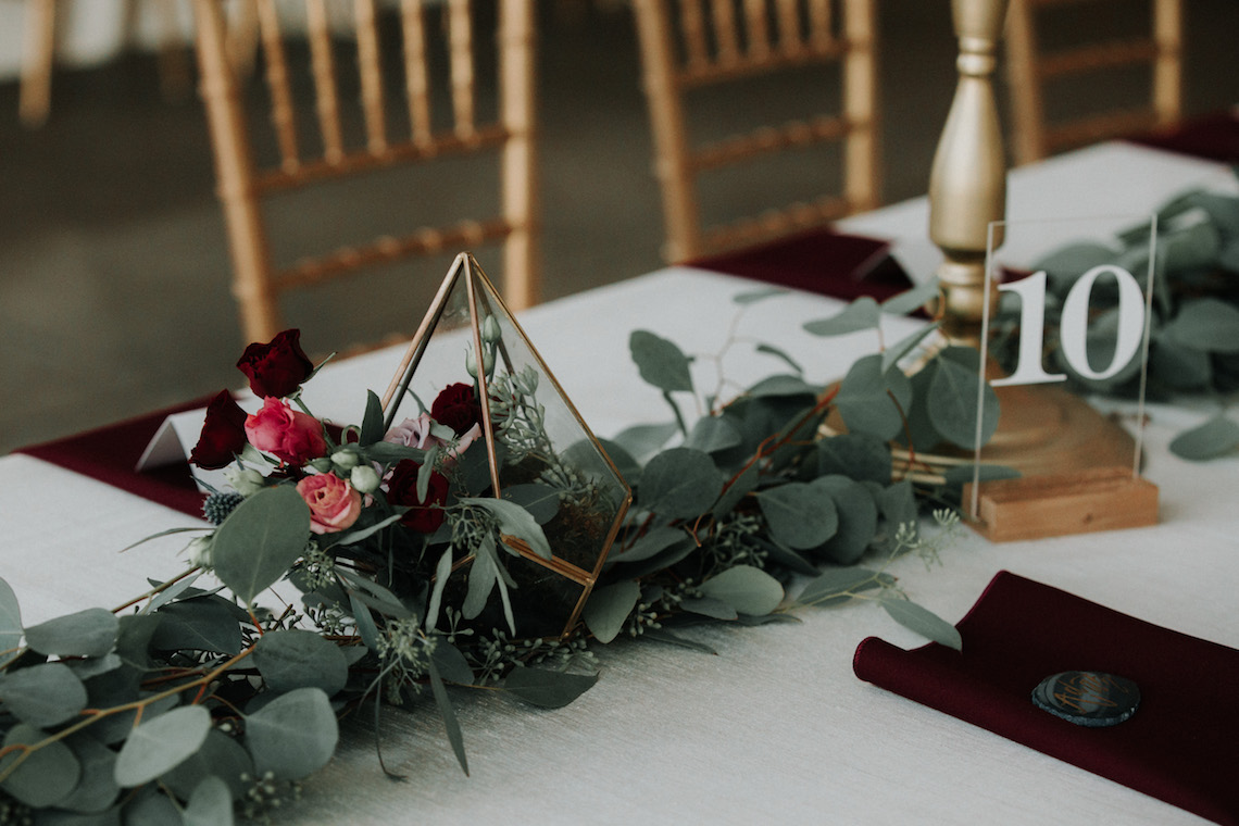 Classic Romance; A Heartfelt Wedding Filled With Red Roses | T & K Photography 29