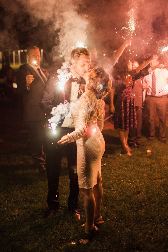 Colorful Vermont Lodge Wedding (With Sparkler Magic!) | Molly Lichten Photography 39