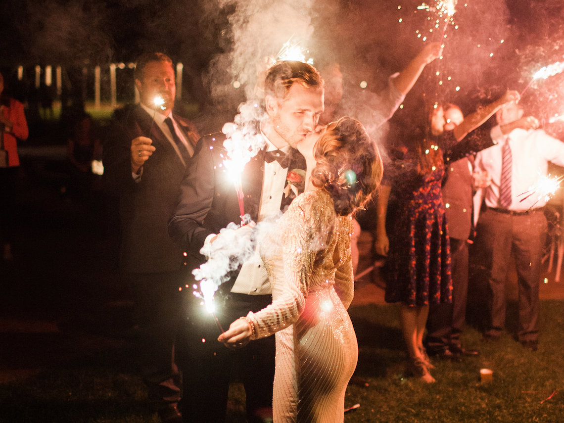 Colorful Vermont Lodge Wedding (With Sparkler Magic!) | Molly Lichten Photography 53