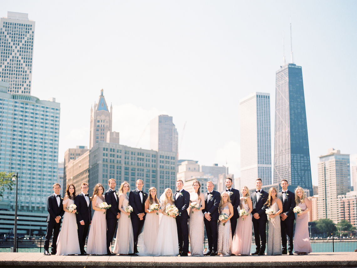 Gorgeous Chicago Ivy Room Wedding | Kristin La Voie Photography 5