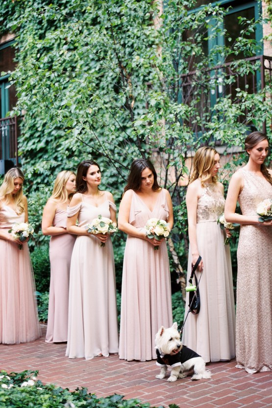 Gorgeous Chicago Ivy Room Wedding | Kristin La Voie Photography 59