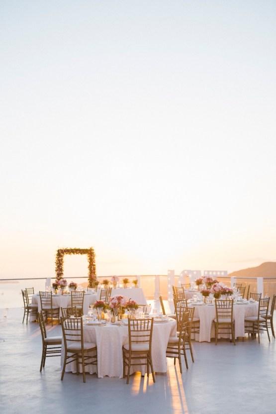 Intimate & Luxurious Cliffside Santorini Wedding | Stella and Moscha | Nikos Gogas 23