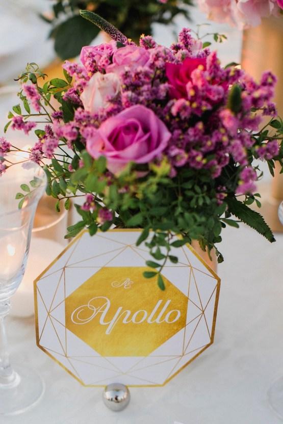 Intimate & Luxurious Cliffside Santorini Wedding | Stella and Moscha | Nikos Gogas 24