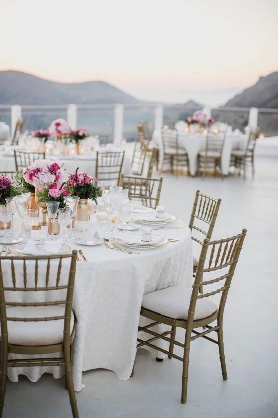 Intimate & Luxurious Cliffside Santorini Wedding | Stella and Moscha | Nikos Gogas 27