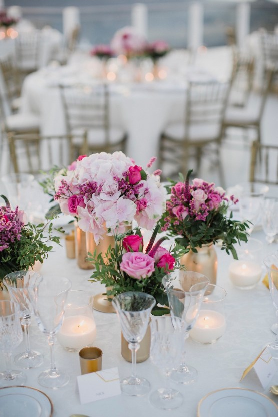 Intimate & Luxurious Cliffside Santorini Wedding | Stella and Moscha | Nikos Gogas 28