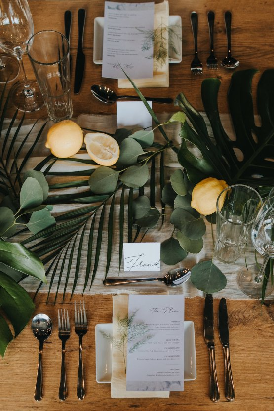 Modern Industrial London Wedding Inspiration With Succulents | Remain in the Light Photography 1