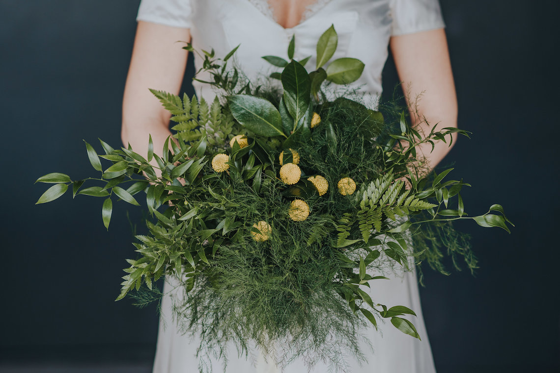 Modern Industrial London Wedding Inspiration With Succulents | Remain in the Light Photography 42