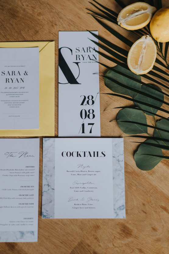 Modern Industrial London Wedding Inspiration With Succulents | Remain in the Light Photography 9