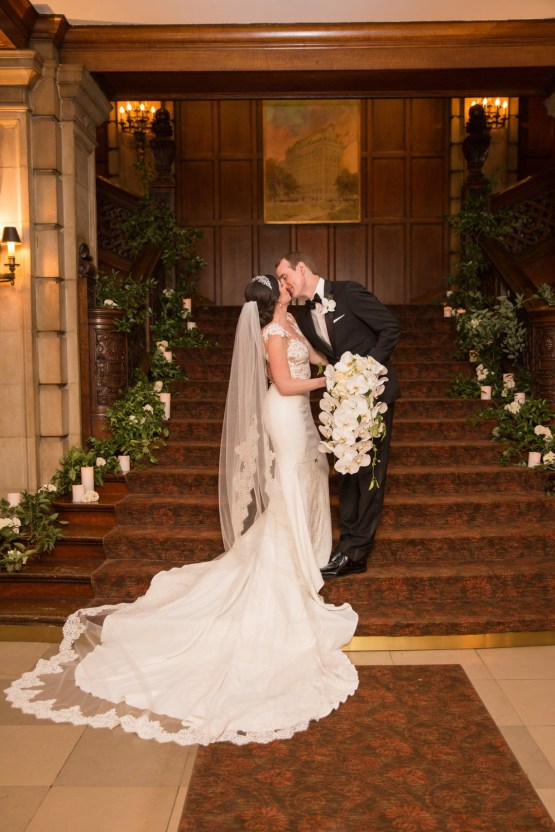 Practically Royal Luxe Chicago Cathedral Wedding | Christina G Photography | LOLA Event Productions 53