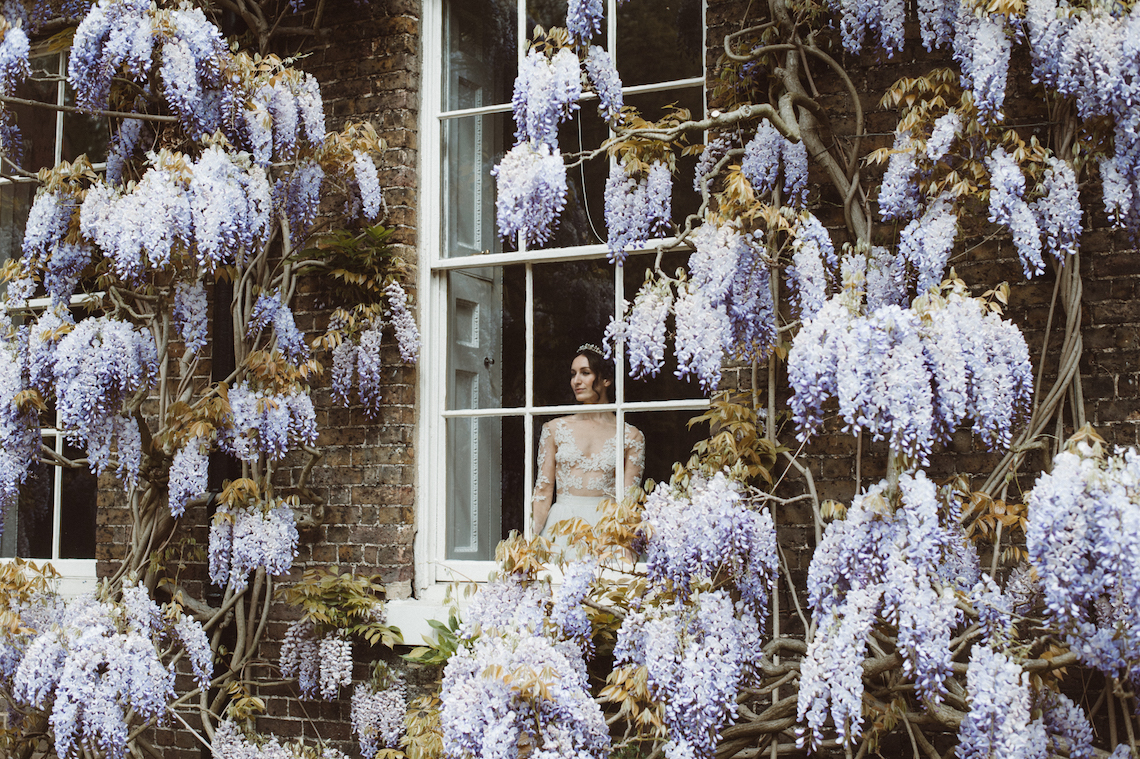 Romantic Wisteria Wedding Inspiration At Fulham Palace | Kitty Wheeler Shaw Photography 39