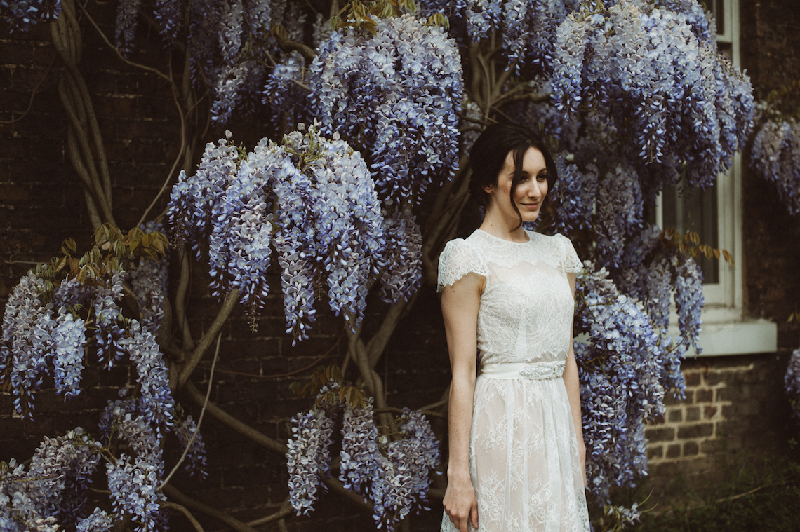 Romantic Wisteria Wedding Inspiration At Fulham Palace | Kitty Wheeler Shaw Photography 54