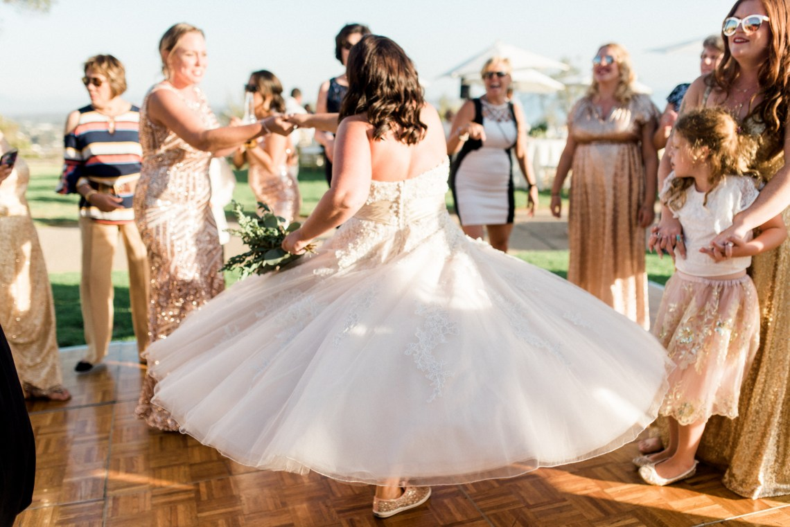 Sparkling Pink & Gold California Wedding | Haley Richter Photography 14