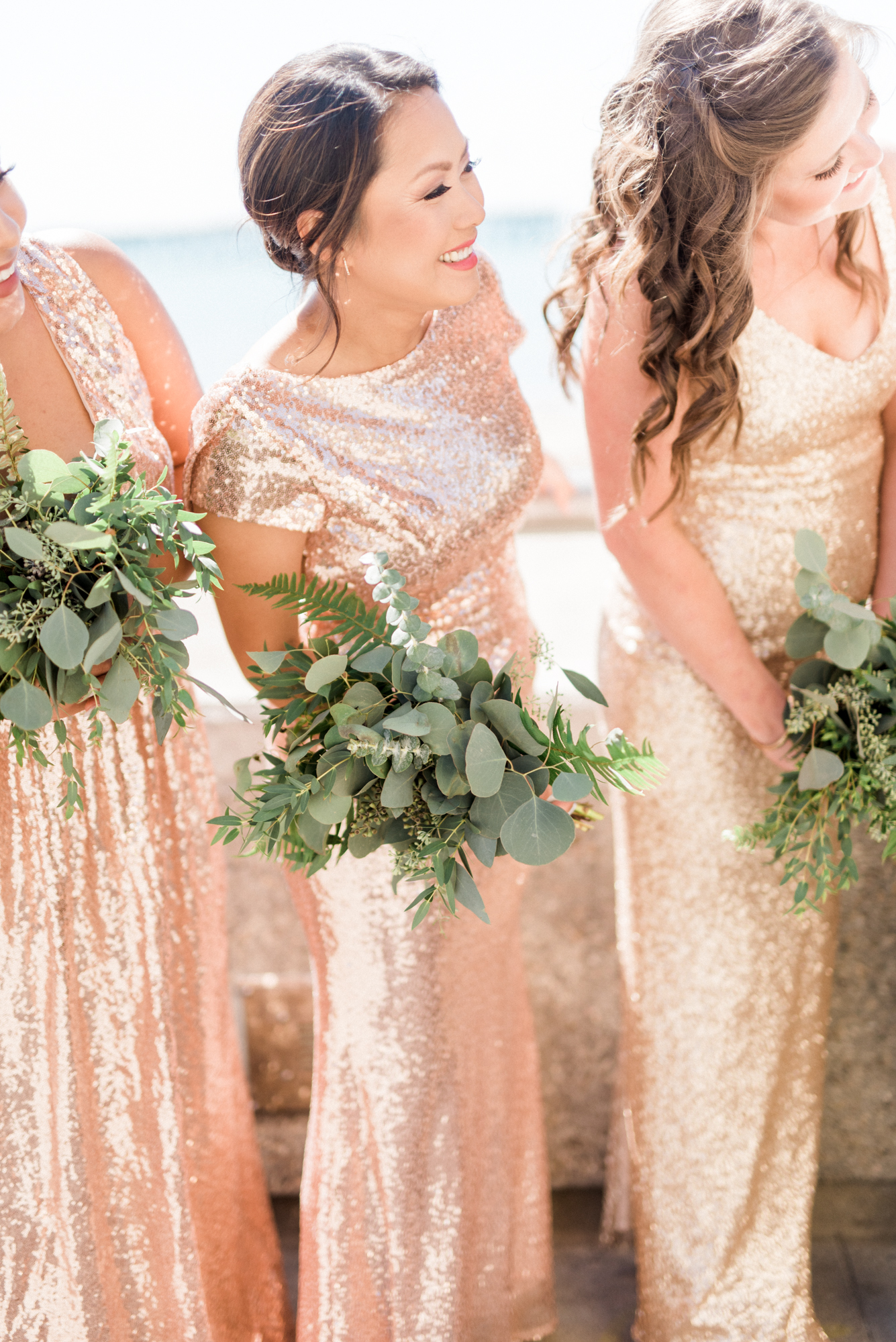 Sparkling Pink & Gold California Wedding | Haley Richter Photography 45