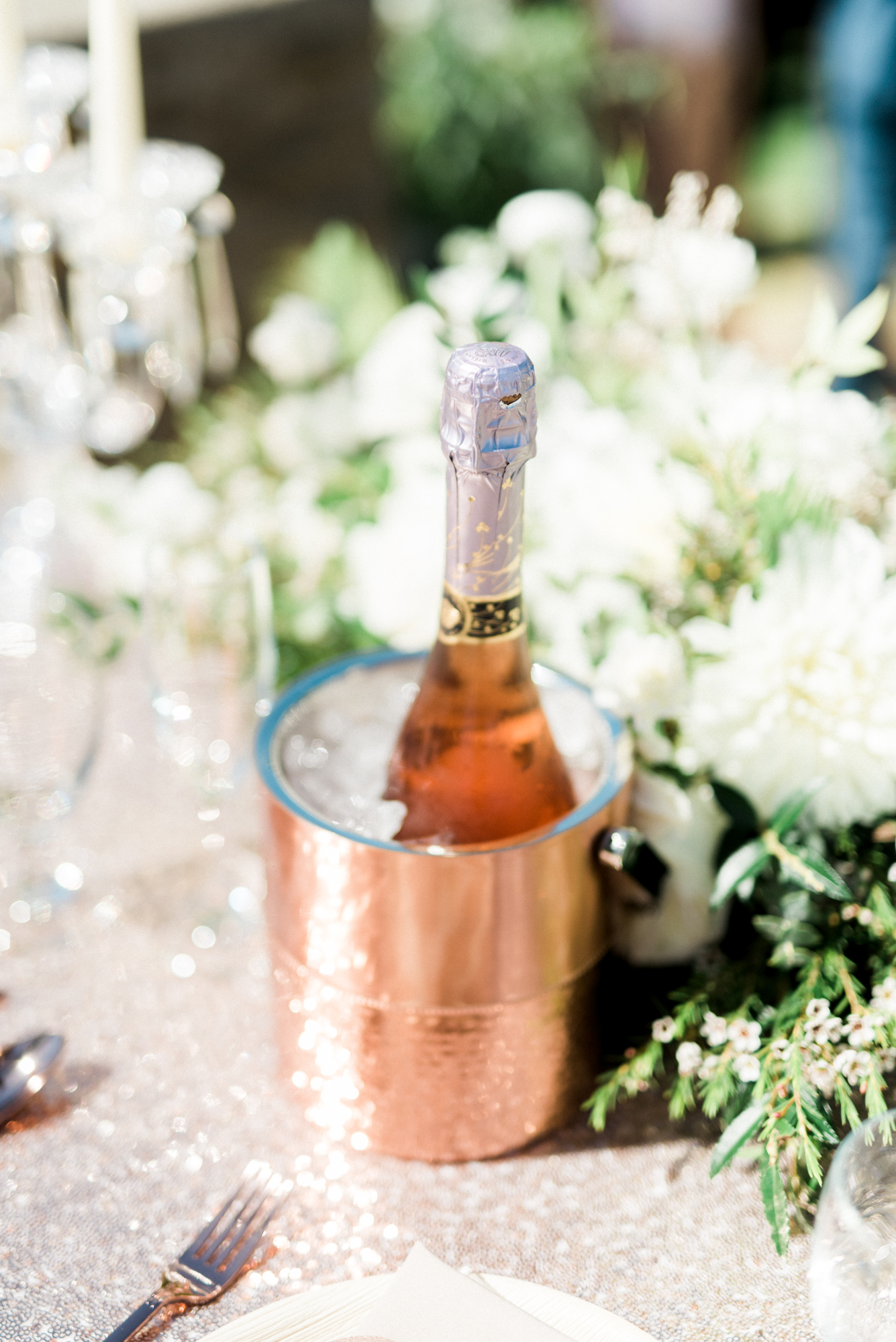Sparkling Pink & Gold California Wedding | Haley Richter Photography 68