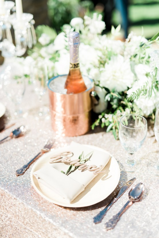 Sparkling Pink & Gold California Wedding | Haley Richter Photography 70