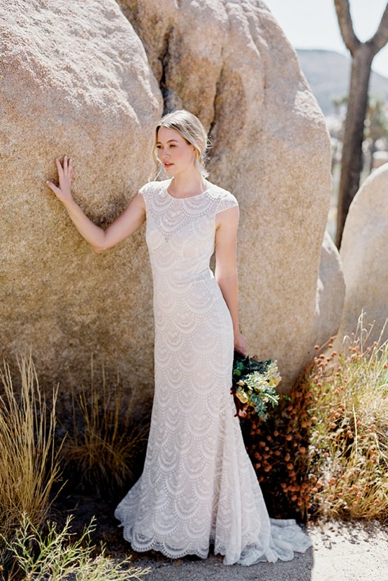 Allure Bridals' Boho Wilderly Bride Wedding Dress Collection (And Giveaway!) | Fern
