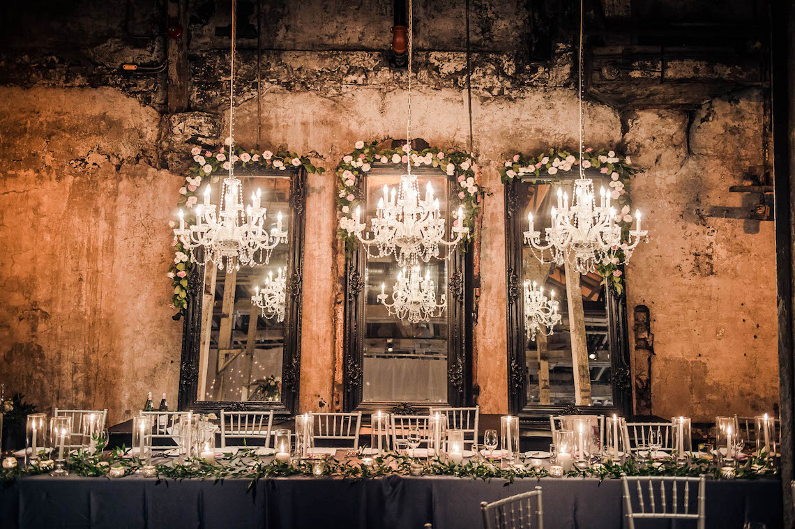 Edgy & Romantic Distillery Wedding | AGI Studio 12
